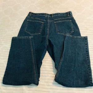 Talbots Stretch Mom Jeans Plus size 14 14w